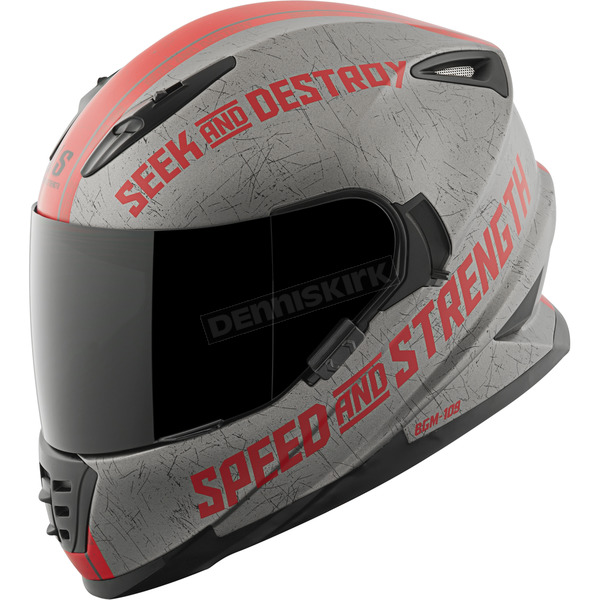 Speed and Strength Red Cruise Missile SS1600 Helmet - 87-1451