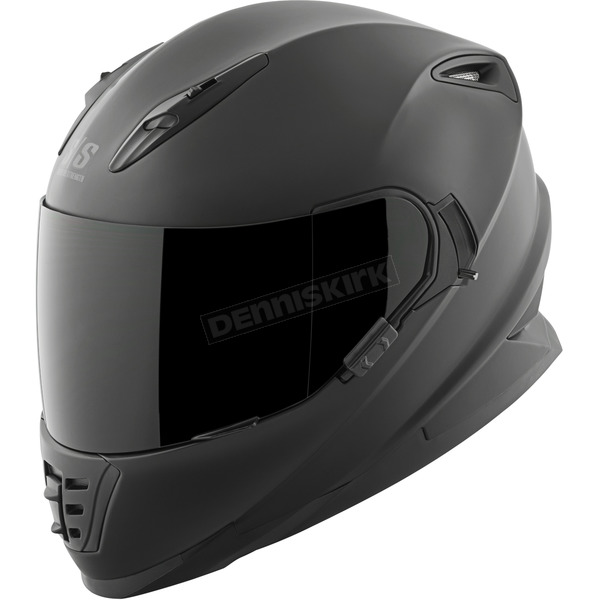 Speed and Strength Solid Matte Black SS1600 Helmet - 87-1435
