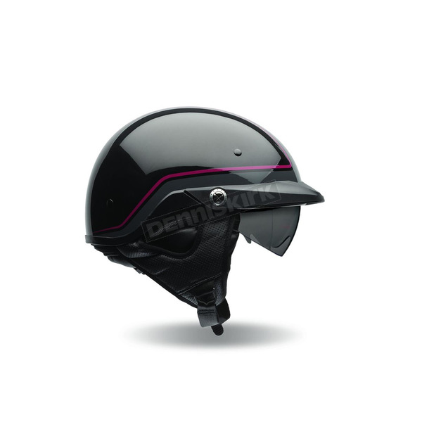 Bell Helmets Black/Dark Red Pin Pit Boss Helmet - 7070065