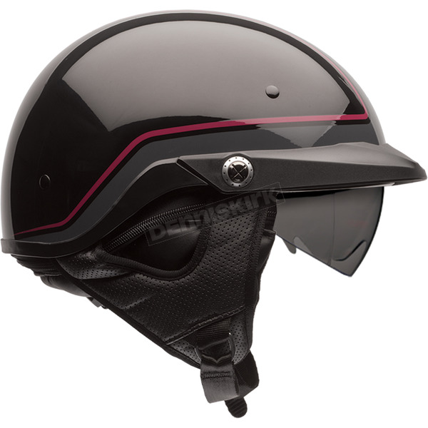 Bell Helmets Black/Dark Red Pin Pit Boss Helmet - 7070066