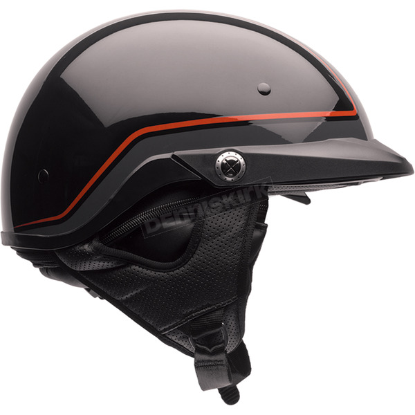 Bell Helmets Black/Orange Pin Pit Boss Helmet - 7070072