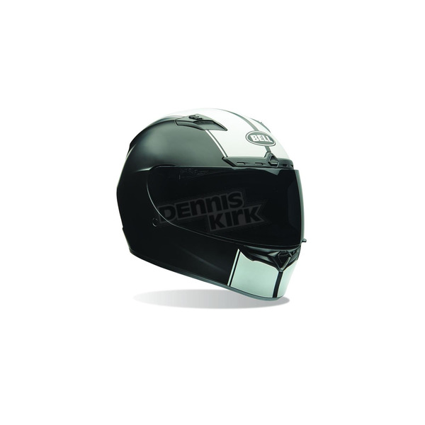 Bell Helmets Black/White Qualifier DLX Rally Helmet - 7069872