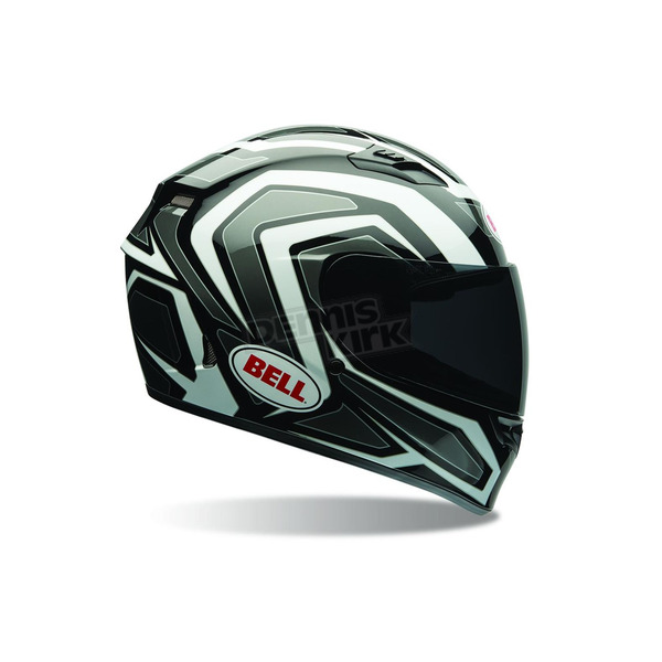 Bell Helmets White/Black Machine Qualifier Helmet - 7069922