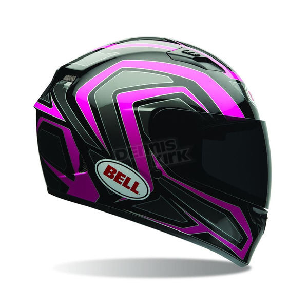 Bell Helmets Black/Pink Machine Qualifier Helmet - 7070120