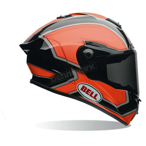 Bell Helmets Orange/Black Pace Star Helmet - 7069823