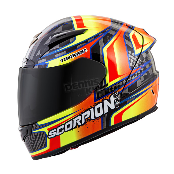 Scorpion Black/Orange EXO-R2000 Tagger Ensenada Helmet - 200-4792