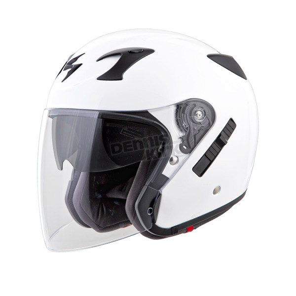Scorpion White EXO-CT220 Helmet - 22-0207