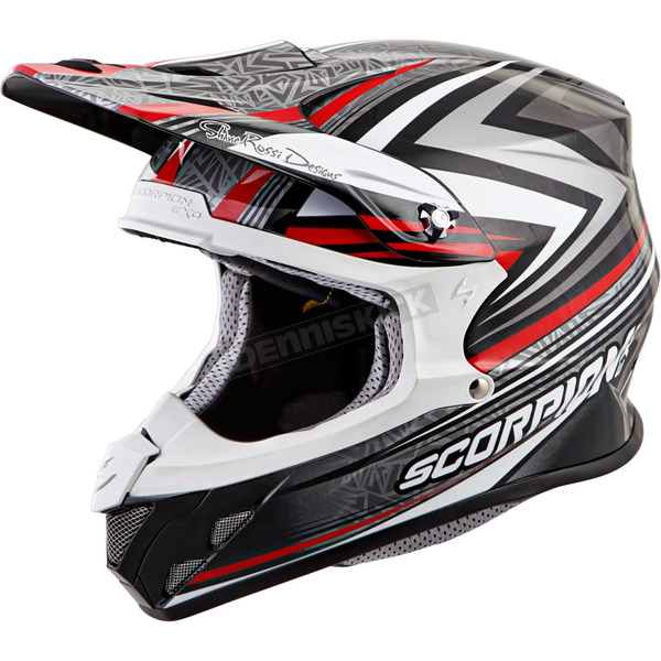 Scorpion Red VX-R70 Barstow Helmet - 70-6114
