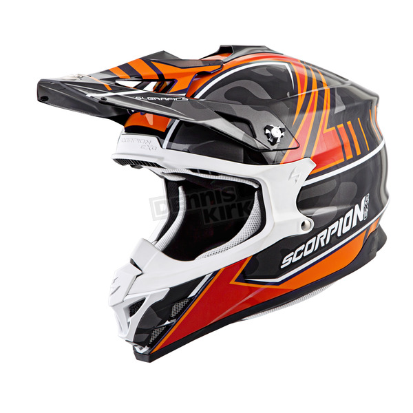 Scorpion Orange Camo VX-35 Miramar Helmet - 35-2026