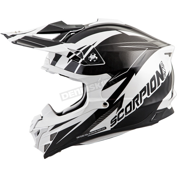 Scorpion White/Black VX-35 Krush Helmet - 35-1822
