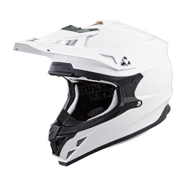 Scorpion White VX-35 Helmet - 35-0012