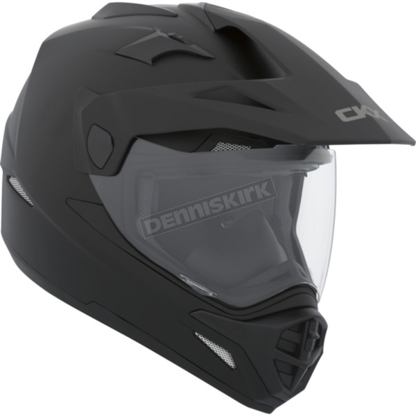 CKX Matte Black Quest Snow Helmet w/Electric Shield - 503872