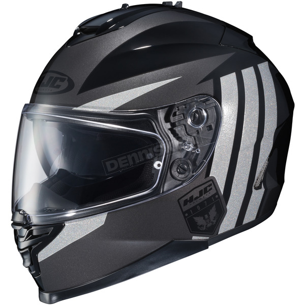 HJC Charcoal/Gray/Black IS-17 MC-5 Grapple Helmet - 58-5159