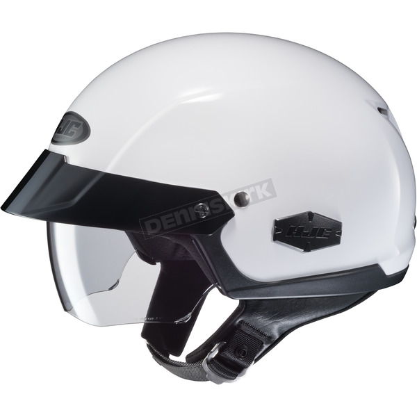 HJC White IS-Cruiser Half Helmet - 488-142
