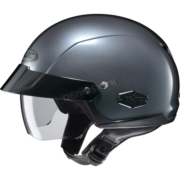 HJC Anthracite IS-Cruiser Half Helmet - 488-565
