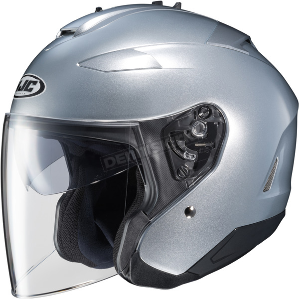 HJC Metallic Silver IS-33 II Helmet - 58-1132