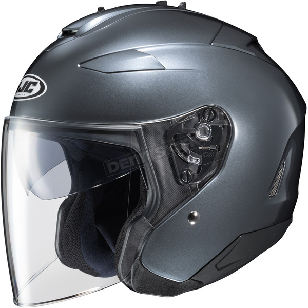 HJC Metallic Anthracite IS-33 II Helmet - 58-1191