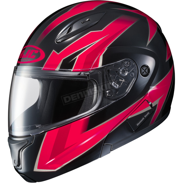 HJC Red/Black CL-Max 2 MC-1 Ridge Modular Helmet - 978-914
