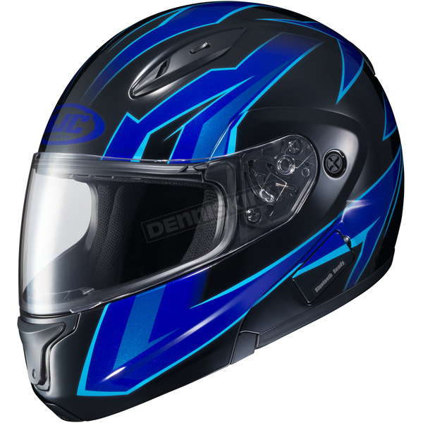 HJC Blue/Black CL-Max 2 MC-2 Ridge Modular Helmet - 59-4529