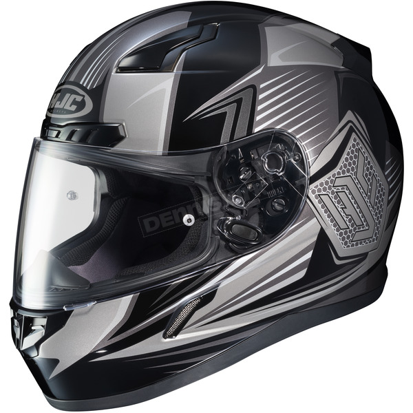 HJC Black/Gray CL-17 MC-5 Striker Helmet - 834-953