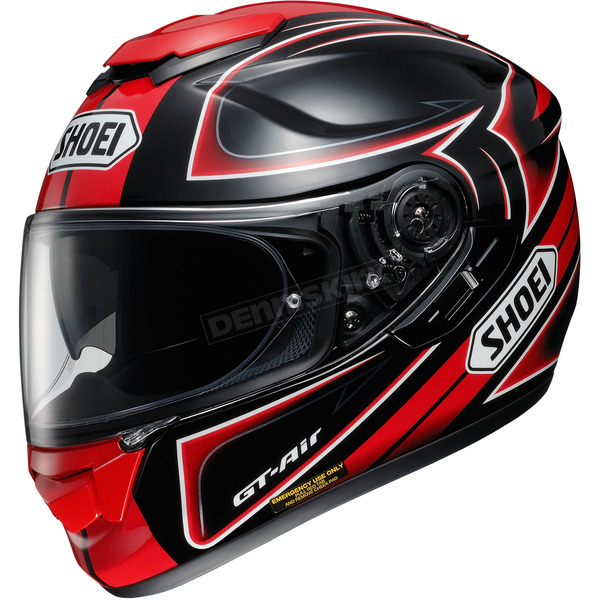 Shoei Helmets Black/Red/White GT-Air Expanse TC-1 Helmet - 0118-1701-05