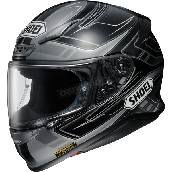 Shoei Helmets Black/Gray RF-1200 Valkyrie TC-5  Helmet - 0109-2305-08