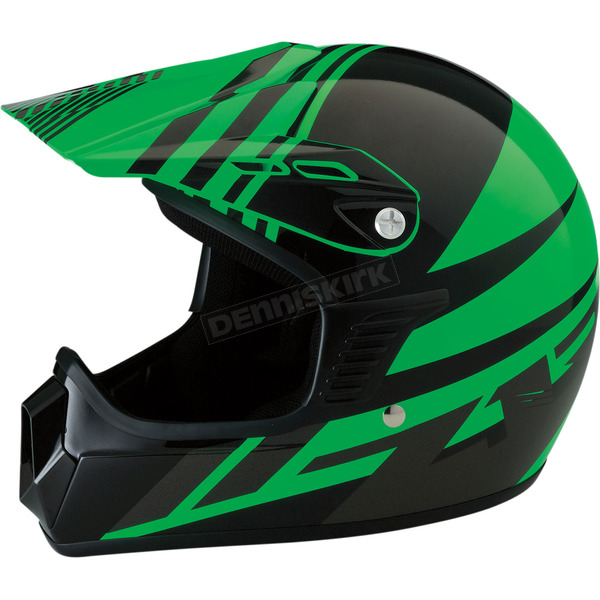Z1R Youth Gloss Green Roost SE Helmet - 0111-1035