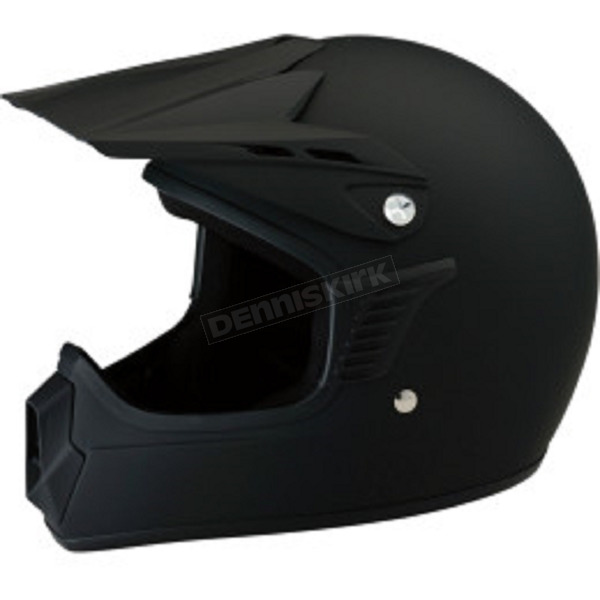Z1R Youth Matte Black Roost SE Helmet - 0111-1038