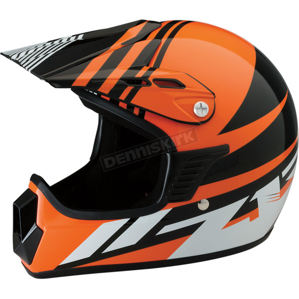 Z1R Youth Gloss Orange Roost SE Helmet - 0111-1040
