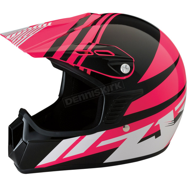 Z1R Youth Gloss Pink Roost SE Helmet - 0111-1041