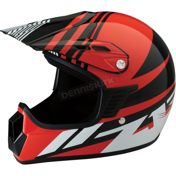 Z1R Youth Gloss Red Roost SE Helmet - 0111-1043