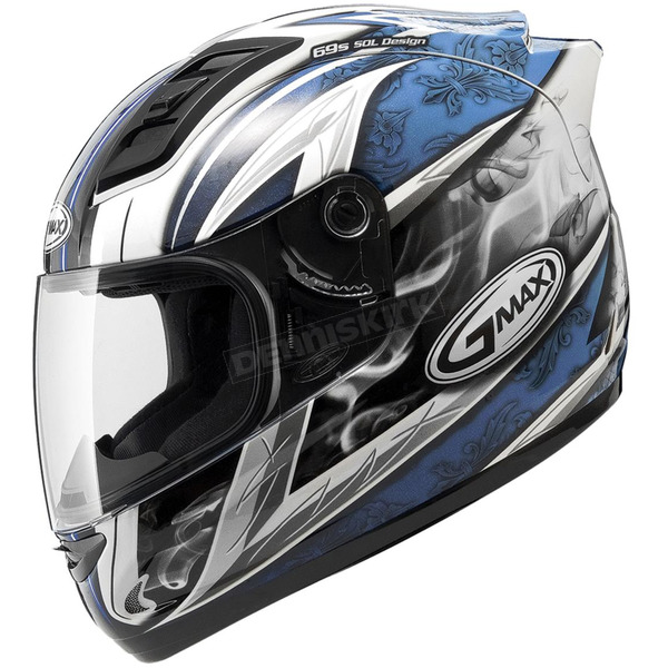 GMax White/Blue GM69S Platinum Series Crusader 2 - 72-48822X