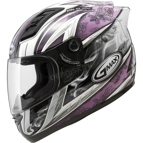 GMax White/Purple GM69S Platinum Series Crusader 2 - 72-48892X