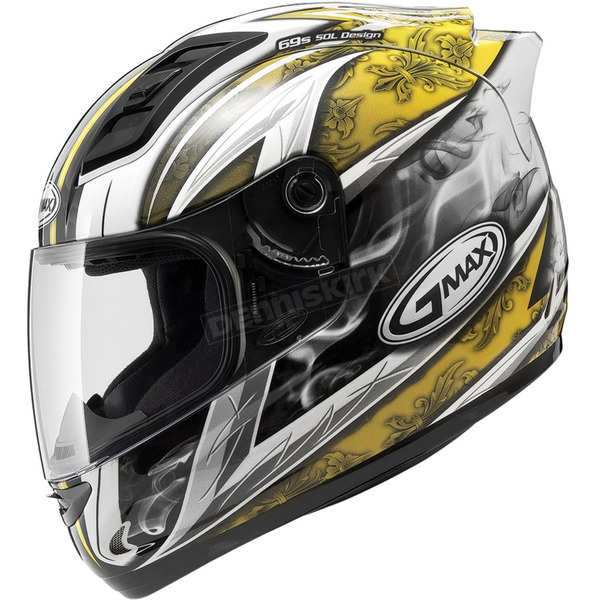 GMax White/Yellow GM69S Platinum Series Crusader 2 - 72-4884S