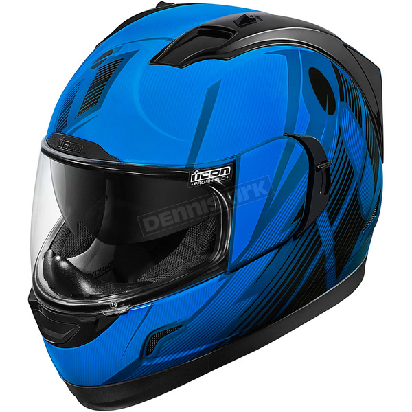Icon Blue Primary Alliance GT Helmet - 0101-8988