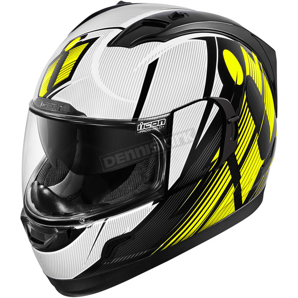 Icon Hi-Viz Primary Alliance GT Helmet - 0101-9001