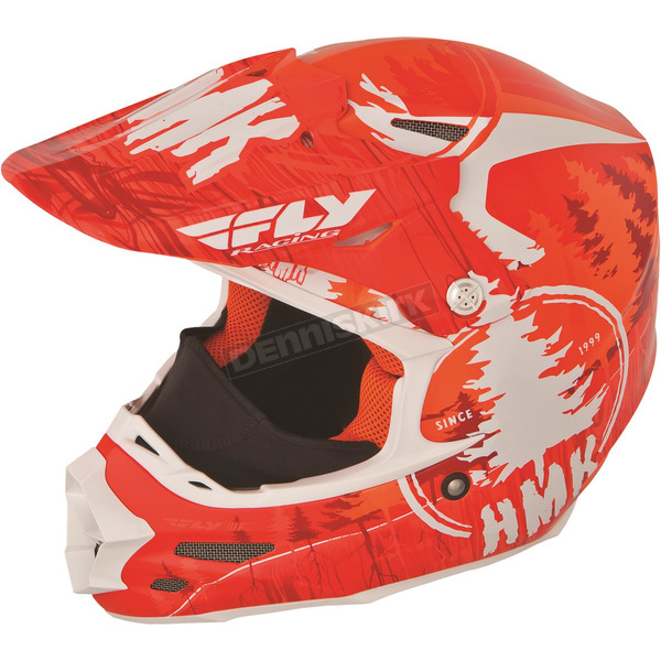 Fly Racing Orange HMK Stamp F2 Carbon Helmet - 73-4924XS