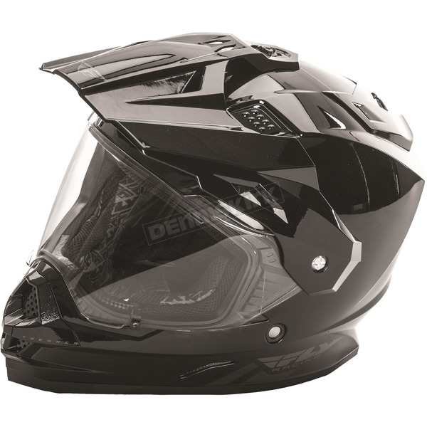 Fly Racing Black Trekker Helmet - 73-7010S