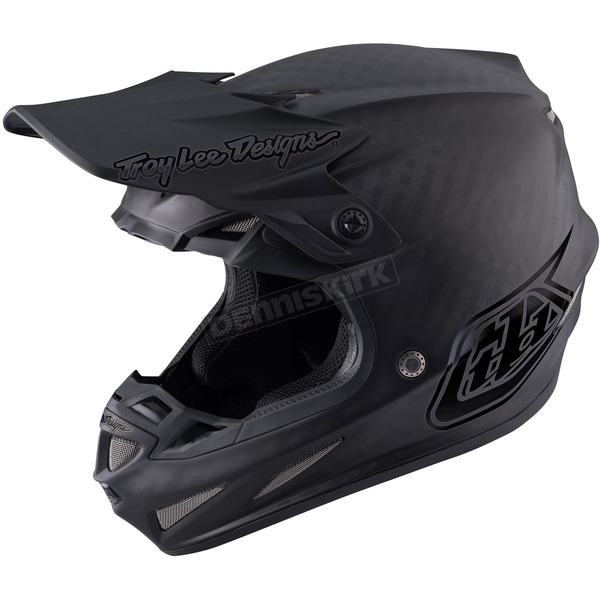 Troy Lee Designs Midnight Matte Black SE4 Carbon Helmet - 102002206