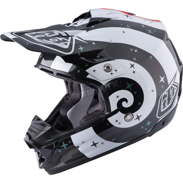 Troy Lee Designs White Phantom SE3 Helmet - 109124103