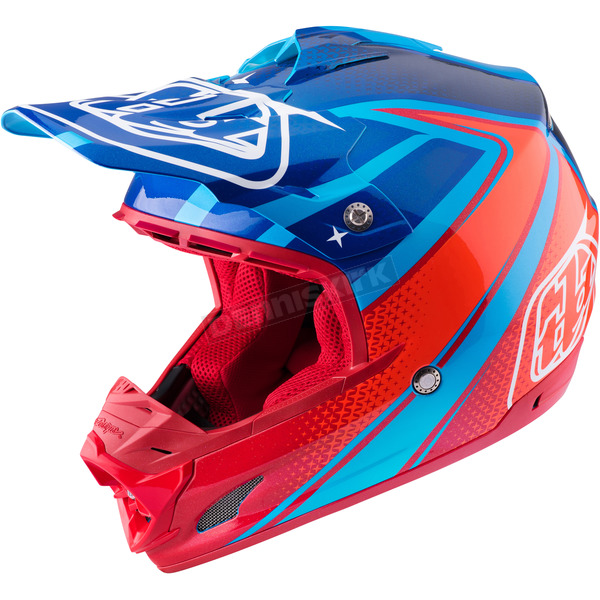 Troy Lee Designs Cyan Neptune SE3 Helmet - 109125303