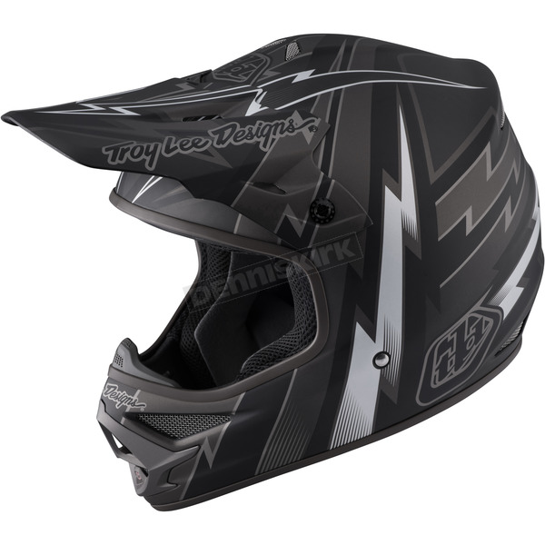 Troy Lee Designs Black Air Beams Helmet - 117127202