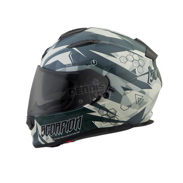 Scorpion Green Cipher EXO-T510 Helmet - T51-1216