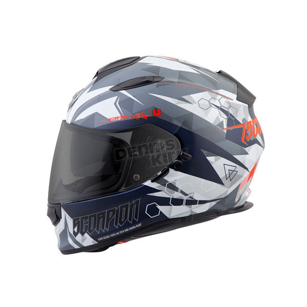 Scorpion White Cipher EXO-T510 Helmet - T51-1232