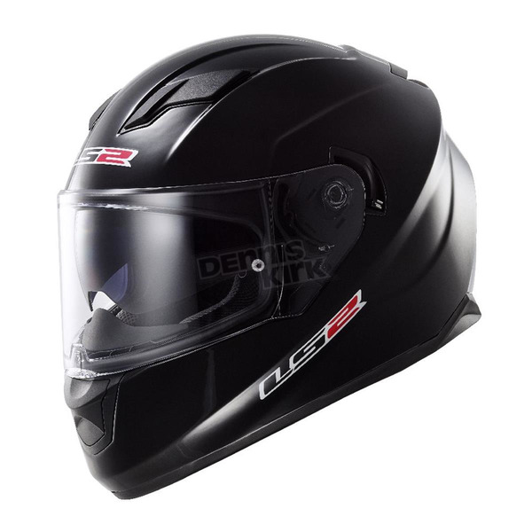 LS2 Black Stream FF328 Full Face Helmet - 328-1004