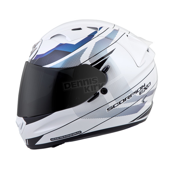 Scorpion White EXO-T1200 Mainstay Helmet - T12-4605