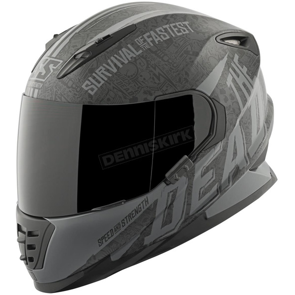 Speed and Strength Black/Gray Quick and the Dead SS1310 Helmet - 874839