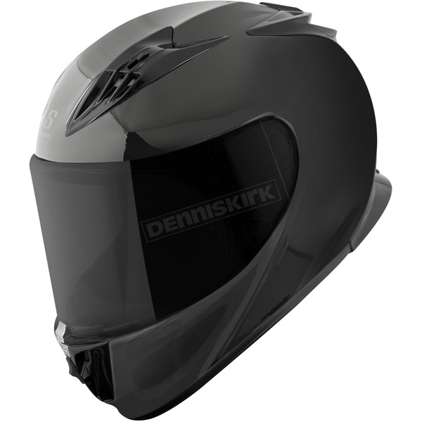 Speed and Strength Black Solid Speed SS3000 Helmet - 876182