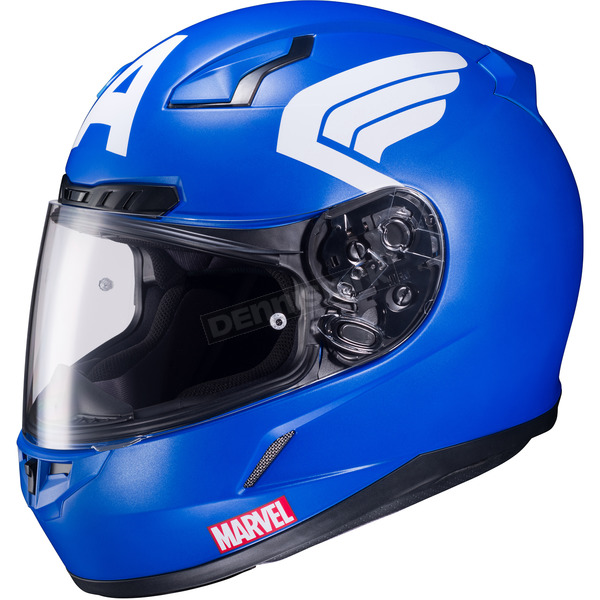 HJC Marvel CL-17 MC-2F Captain America Helmet - 57-9729