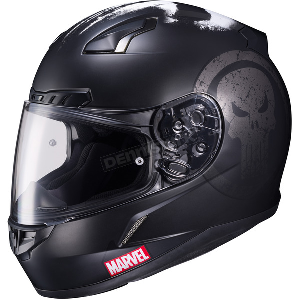 HJC Marvel MC-5F CL-17 Punisher Helmet - 57-9754
